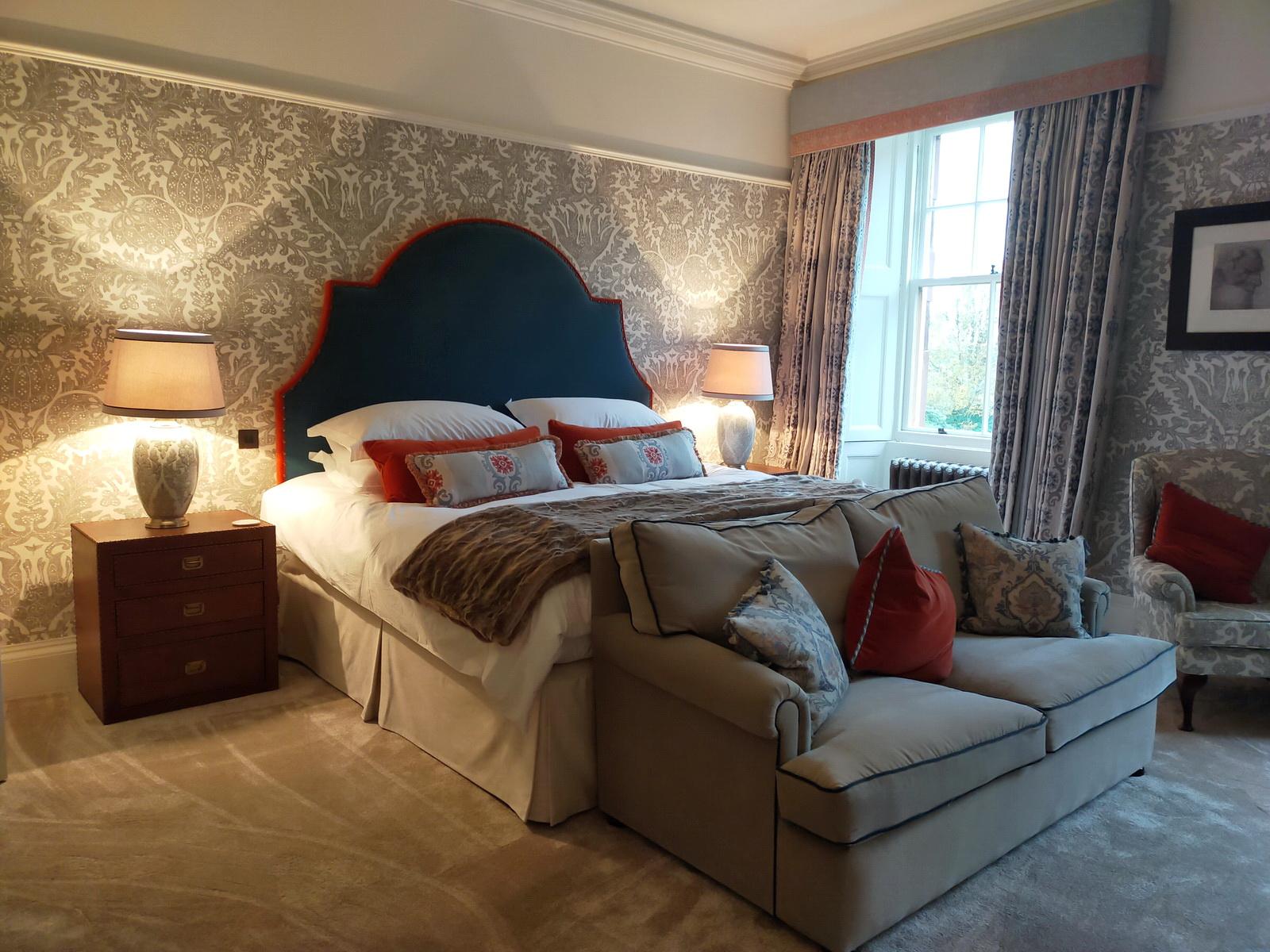 Auchterarder House - bedroom