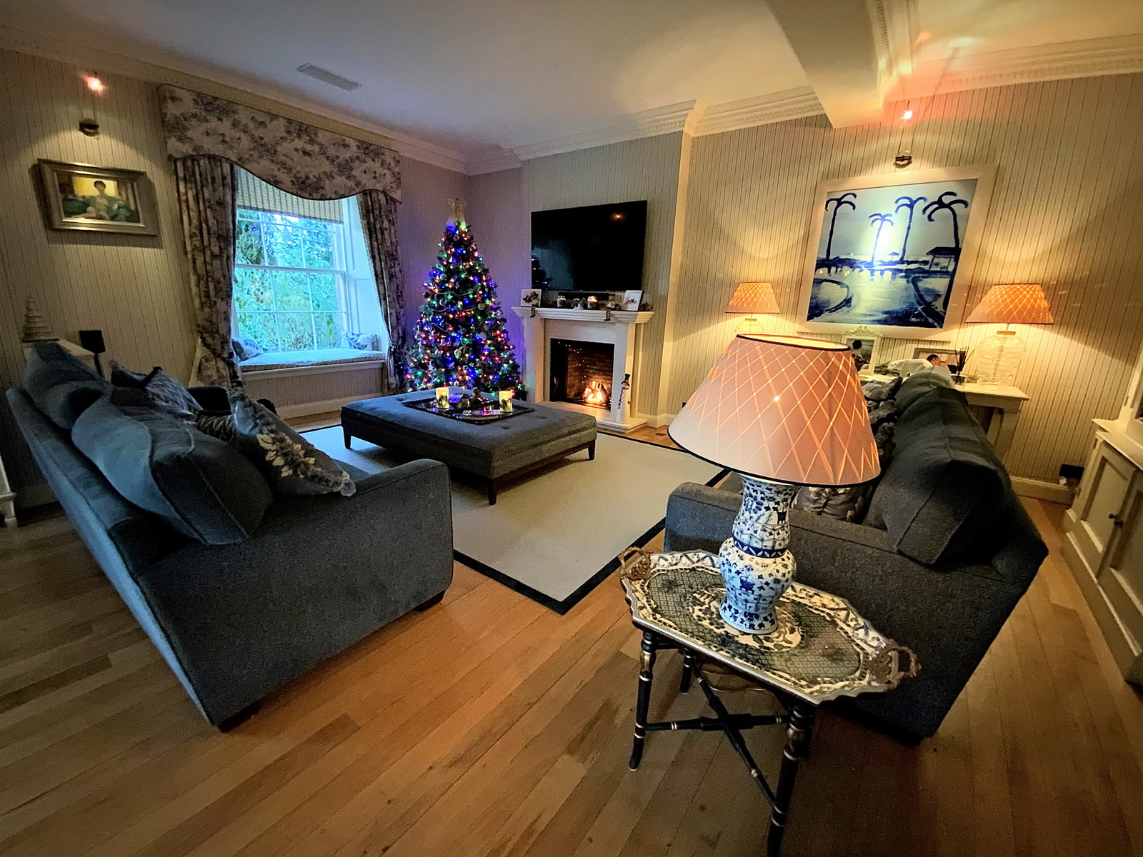 Auchterarder House - family room