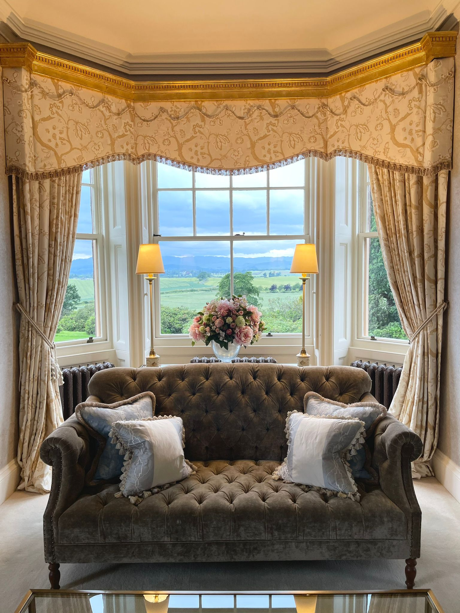 Auchterarder House - view from master bedroom