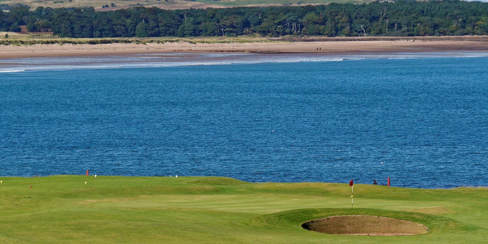 East Lothian golf course