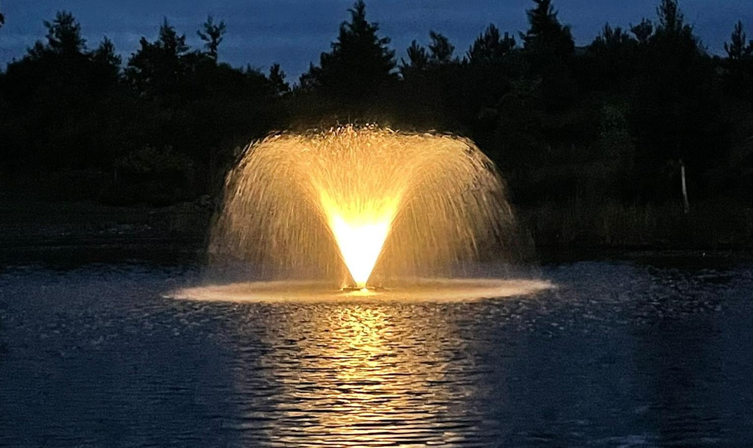 Auchterarder House - fountain
